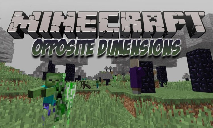 Opposite Dimensions mod for Minecraft logo