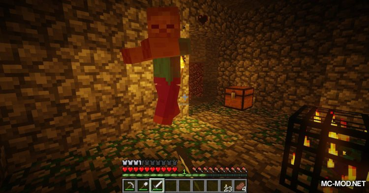 Pendant of Life mod for Minecraft (8)