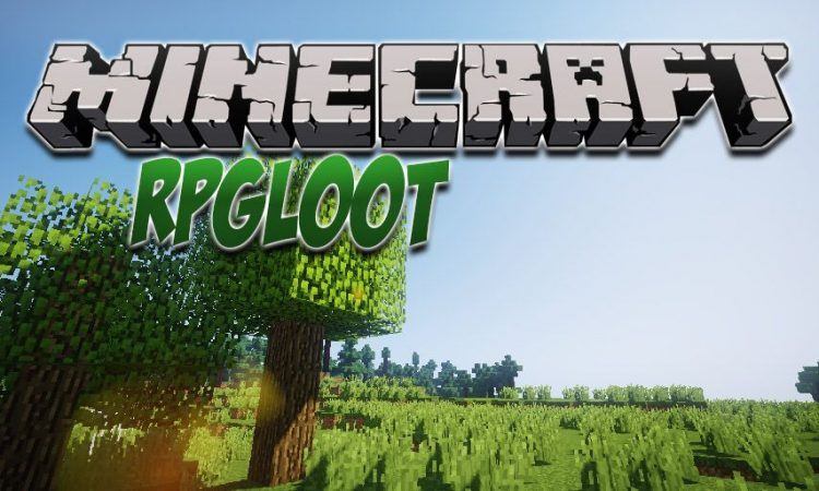 RPGLoot mod for Minecraft logo