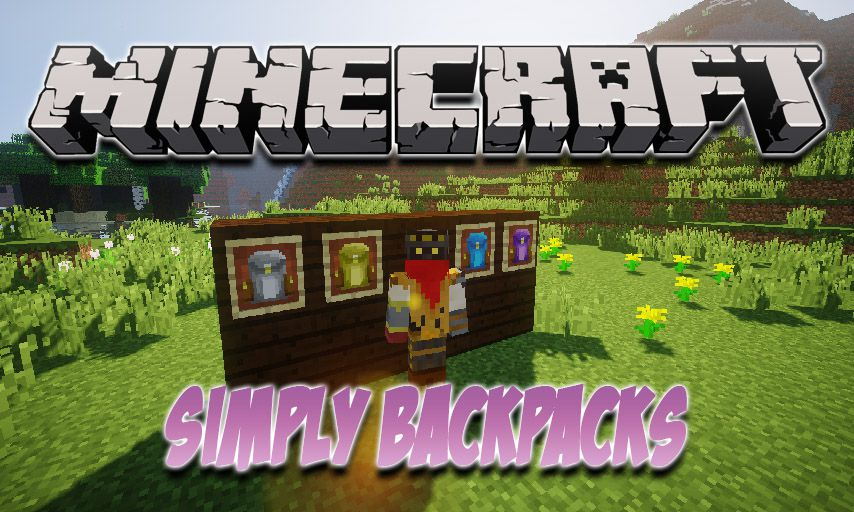Simply Backpacks mod for Minecraft logo
