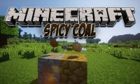Spicy Coal mod for Minecraft logo