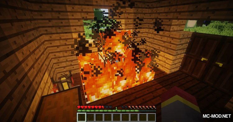 Wooden Furnace mod for Minecraft (11)