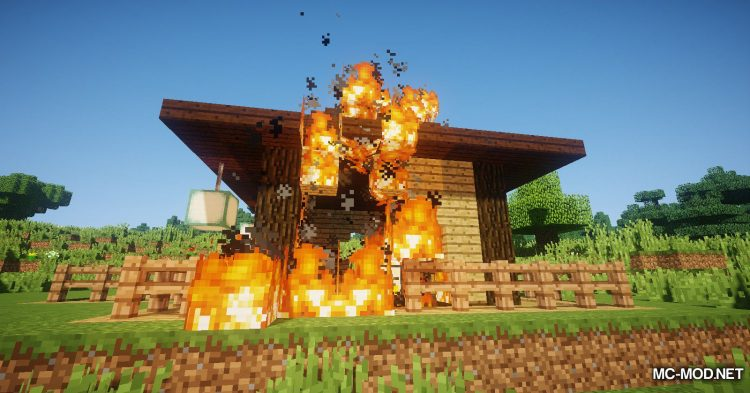 Wooden Furnace mod for Minecraft (13)