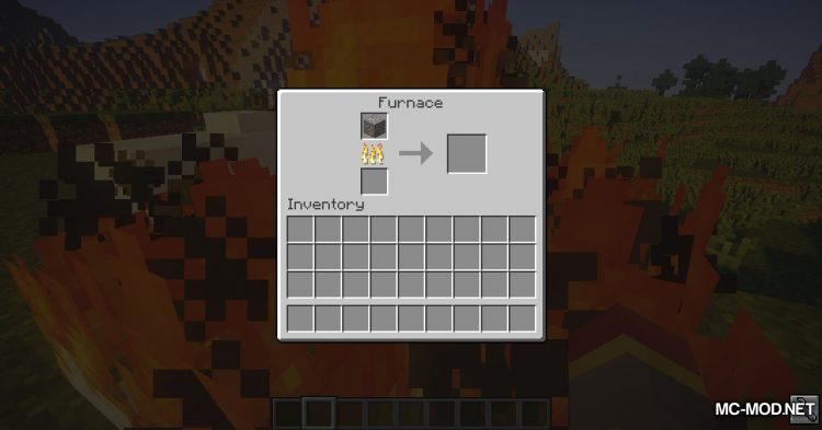 Wooden Furnace mod for Minecraft (4)