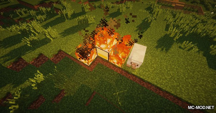 Wooden Furnace mod for Minecraft (5)