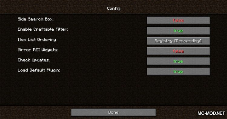 Roughly Enough Items mod for Minecraft (14)