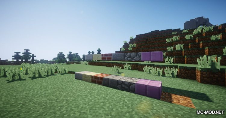 Snow Variants mod for Minecraft (13)