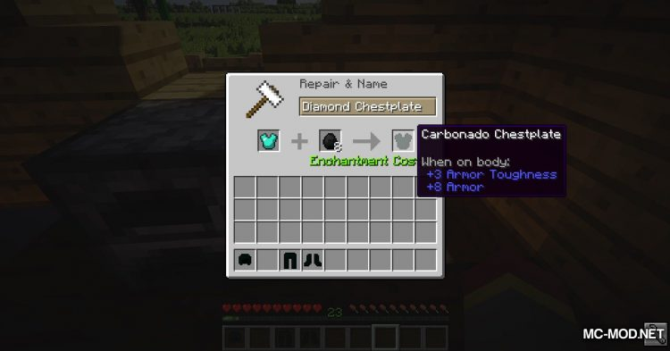 Carbonado Ore mod for Minecraft (11)
