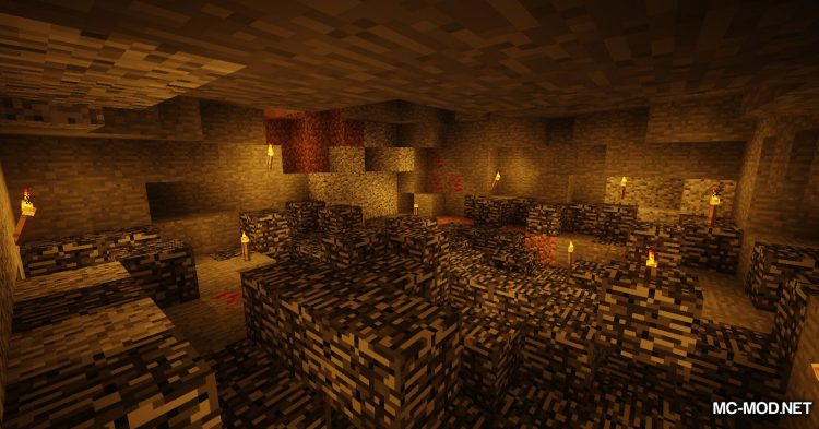 Carbonado Ore mod for Minecraft (2)