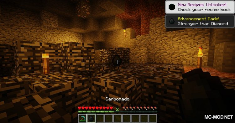 Carbonado Ore mod for Minecraft (6)