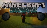 Carbonado Ore mod for Minecraft logo