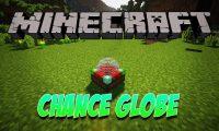 Chance Globe mod for Minecraft logo
