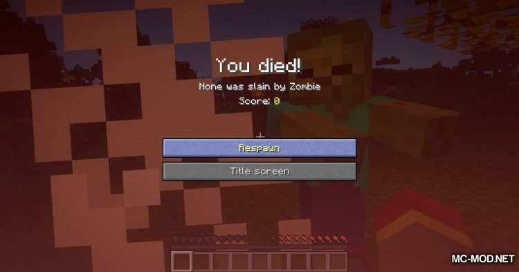 Corpse mod for Minecraft (12)