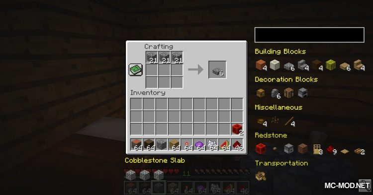 EasierCrafting mod for Minecraft (8)