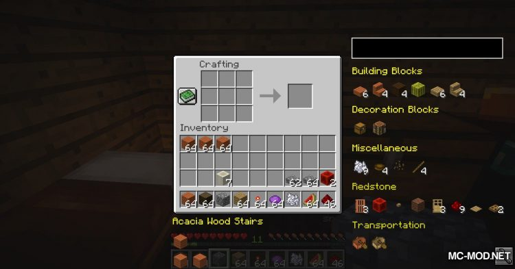 EasierCrafting mod for Minecraft (9)