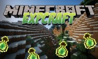 ExpCraft mod for Minecraft logo