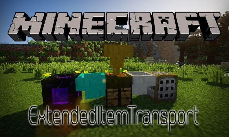 ExtendedItemTransport mod for Minecraft logo