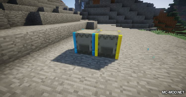 Iron Shulker Boxes mod for Minecraft (15)