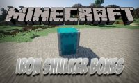 Iron Shulker Boxes mod for Minecraft logo
