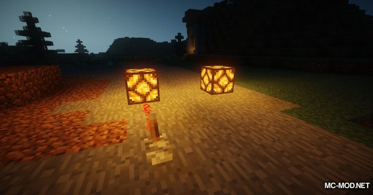 Lamp Block mod for Minecraft (11)