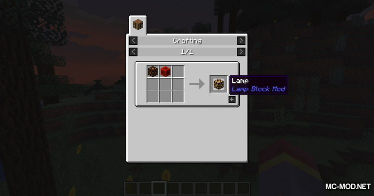 Lamp Block mod for Minecraft (2)