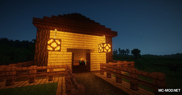 Lamp Block mod for Minecraft (4)