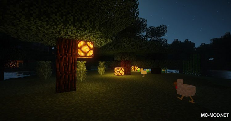 Lamp Block mod for Minecraft (7)