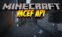 MCEF mod for Minecraft logo
