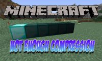 Not Enough Compression mod for Minecraft logo
