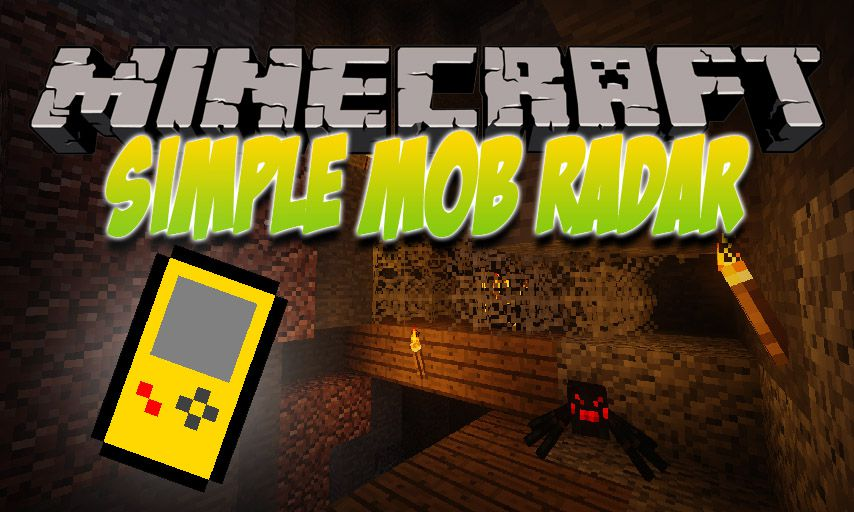 Simple Mob Radar mod for Minecraft logo