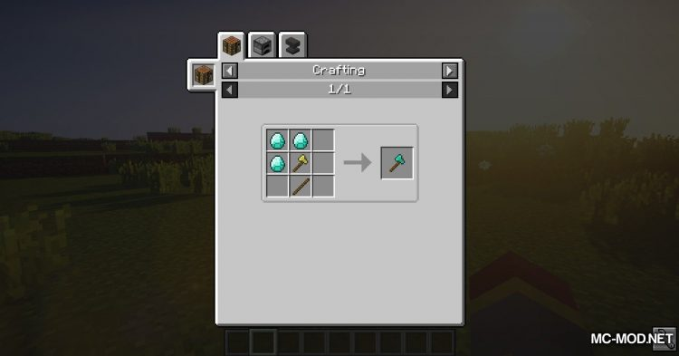 ToMeUpgradeRecipes mod for Minecraft (13)
