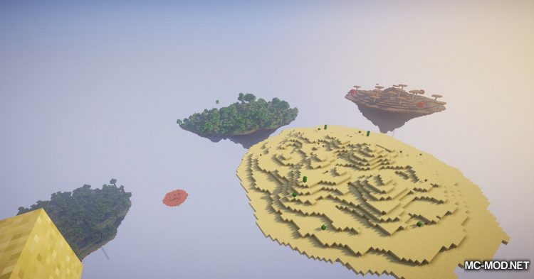 Topography mod for Minecraft (10)