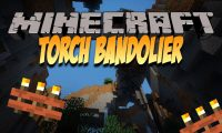 Torch Bandolier mod for Minecraft logo