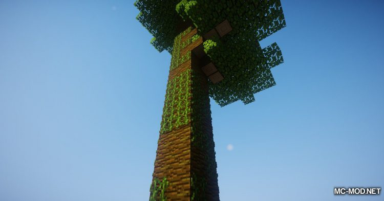 Tree Choppin mod for Minecraft (13)