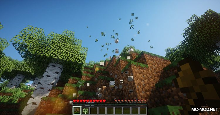 Tree Choppin mod for Minecraft (7)