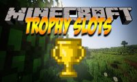 Trophy Slots mod for Minecraft logo