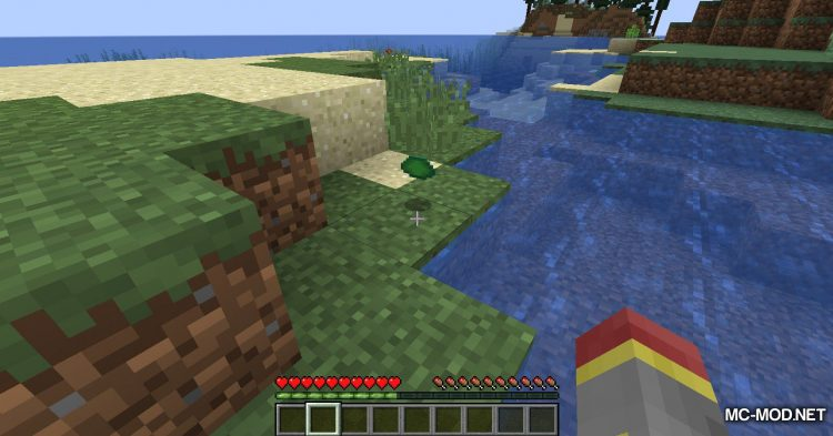 Turtle Shell Drop mod for Minecraft (12)
