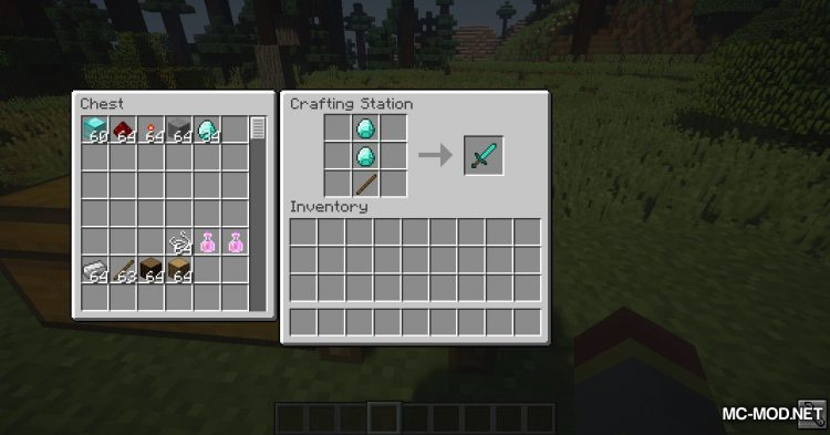 Crafting Station mod for Minecraft (12)