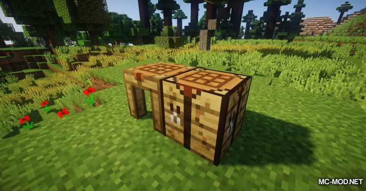 Crafting Station mod for Minecraft (7)