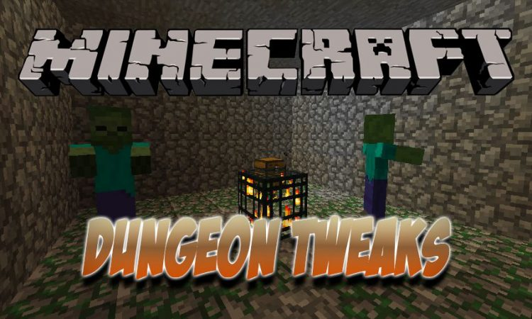 Dungeon Tweaks mod for Minecraft logo