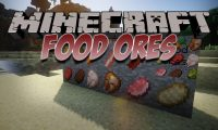 Food Ores mod for Minecraft logo