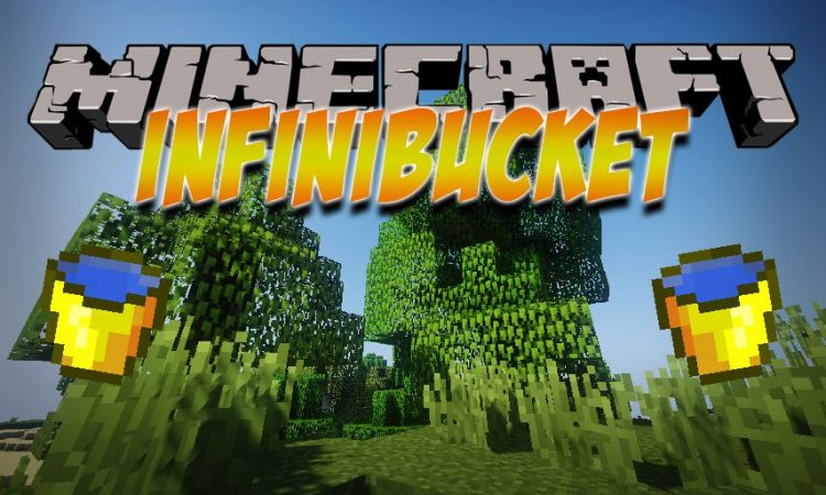InfiniBucket mod for Minecraft logo