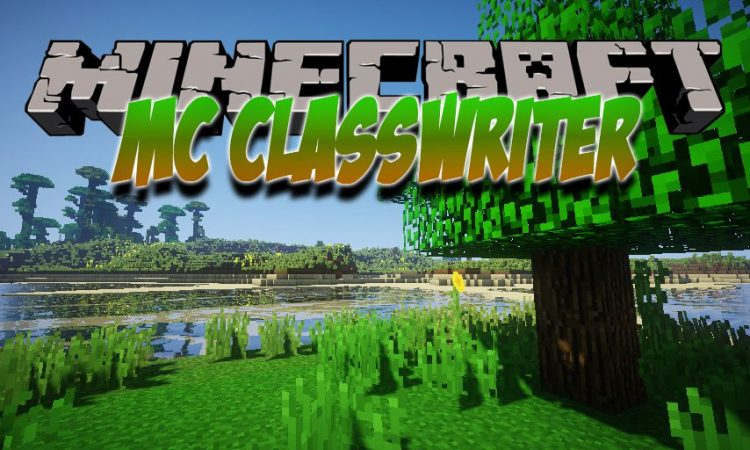 MC ClassWriter mod for Minecraft logo