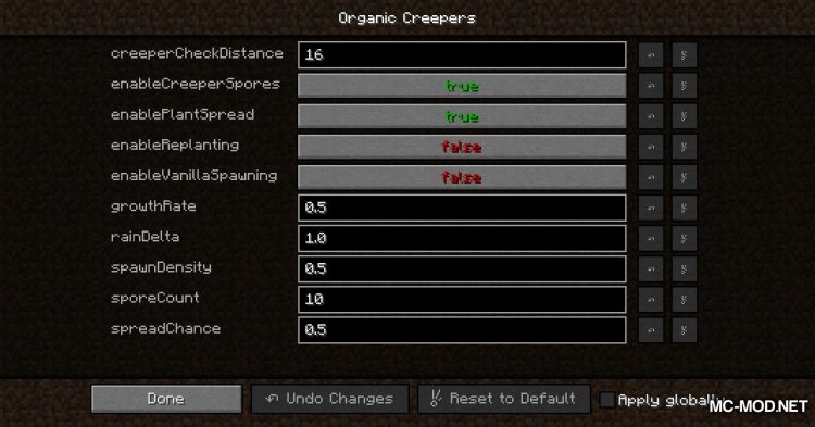 Organic Creepers mod for Minecraft (2)