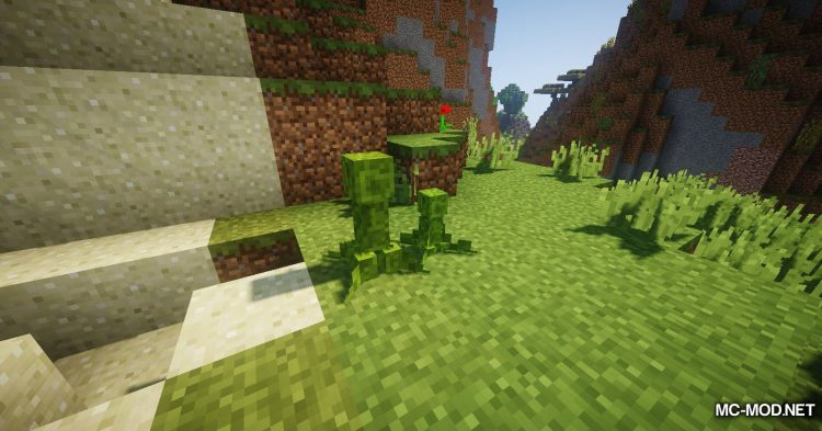 Organic Creepers mod for Minecraft (4)