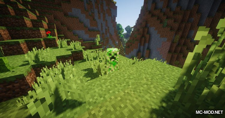 Organic Creepers mod for Minecraft (8)