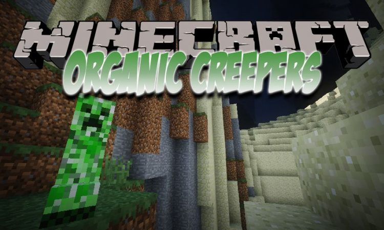 Organic Creepers mod for Minecraft logo