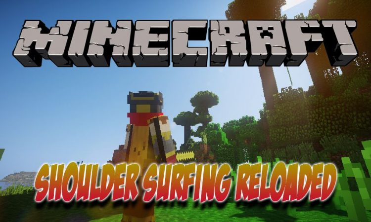 Shoulder Surfing Reloaded mod for Minecraft logo