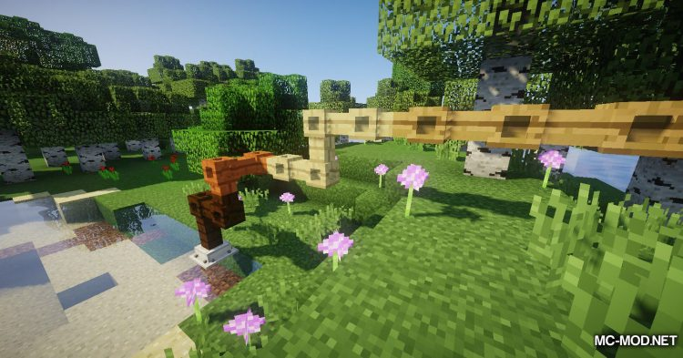 Simple Wooden Pipes mod for Minecraft (11)