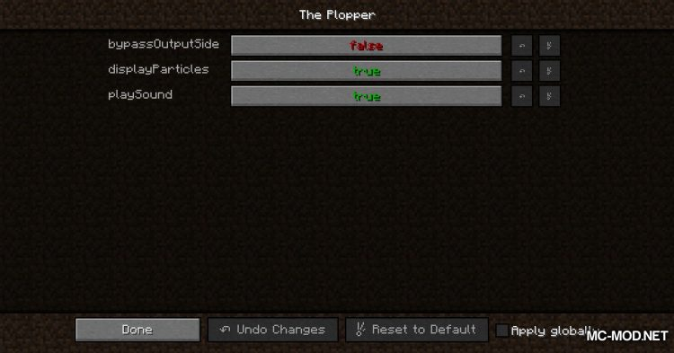 The Plopper mod for Minecraft (2)